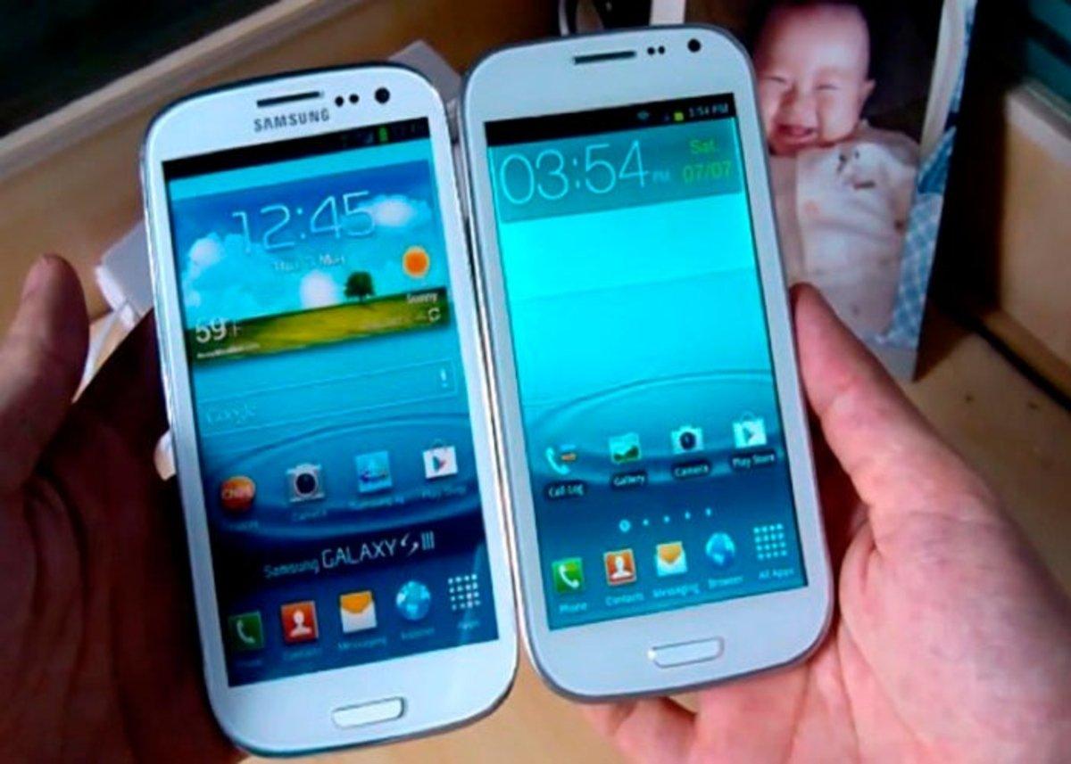 Aparece un clon del Samsung Galaxy S3 por 180 euros