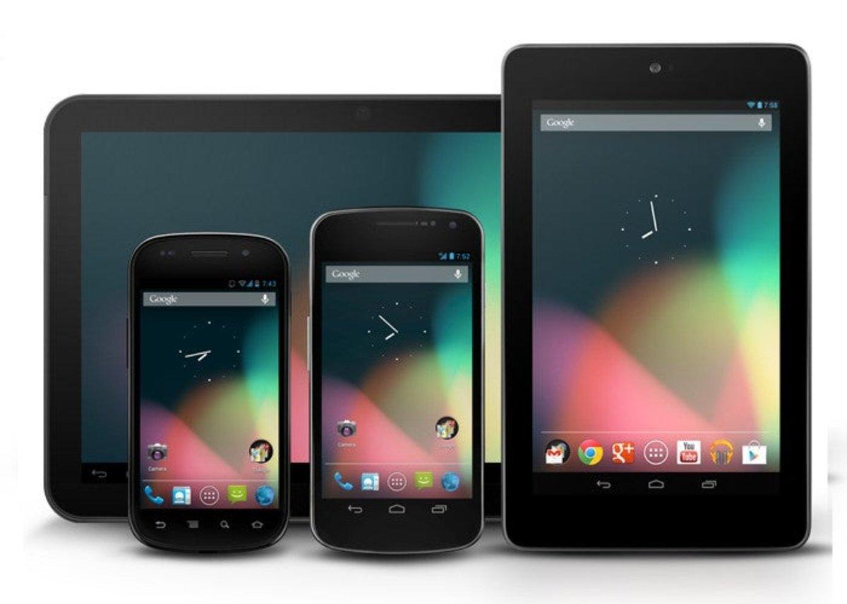 Foto con todos los dispositivos Nexus