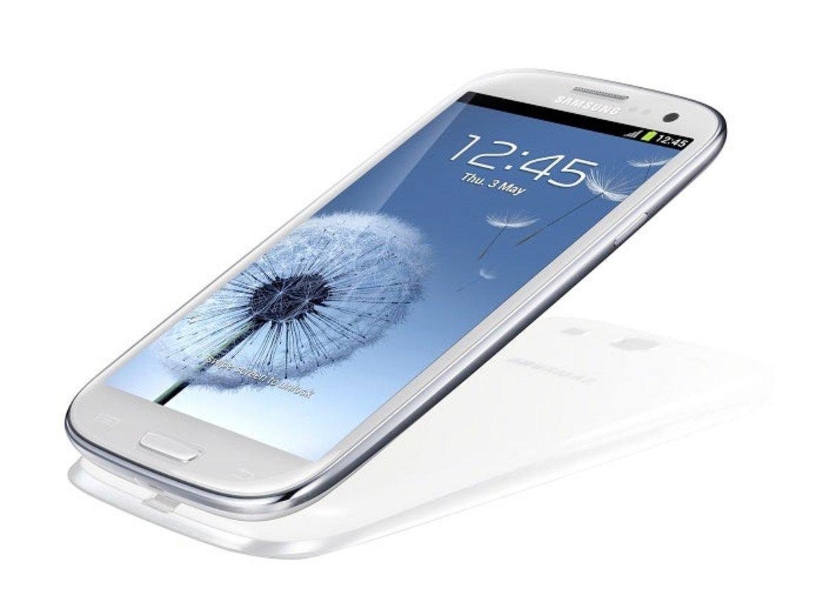 Aspecto físico del Samsung Galaxy S III
