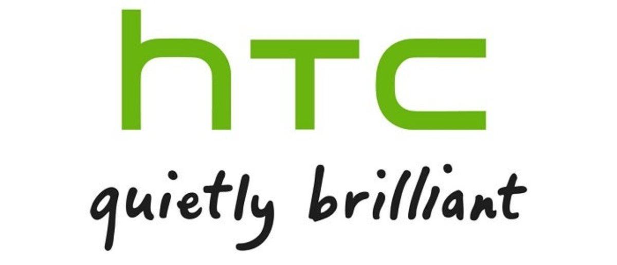 Logo de la compañía taiwanesa HTC