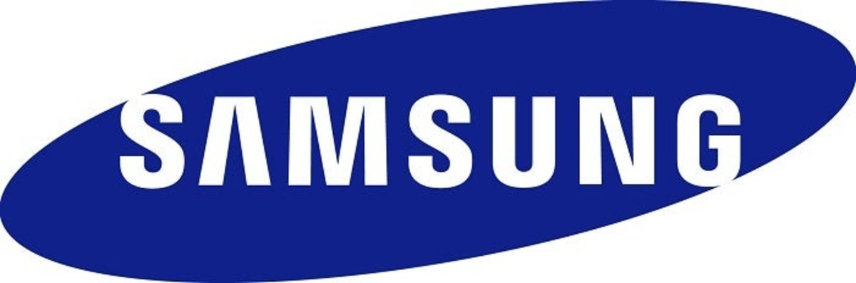 Logo de la firma surcoreana Samsung